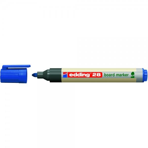 Boardmarker EcoLine 28 blau Rundspitze Umwelt