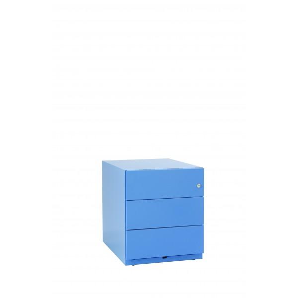 Note, 1 Schub + HR, blau