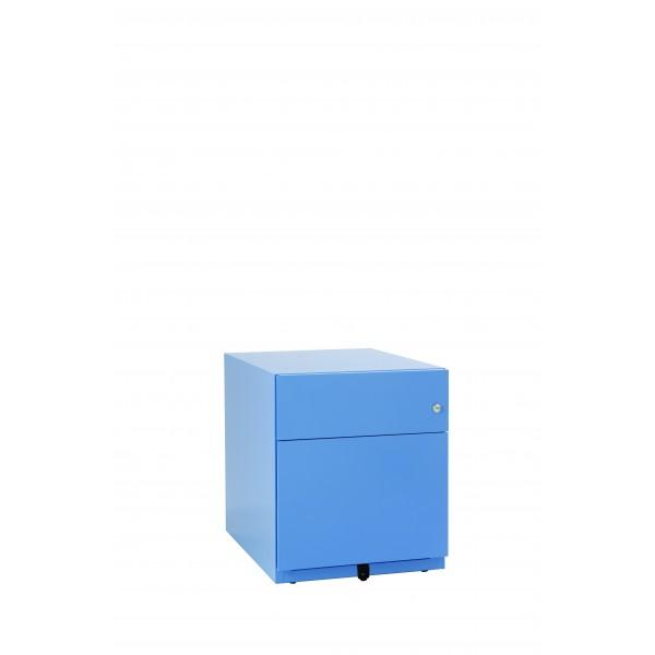 Note, 3 Schubladen, blau