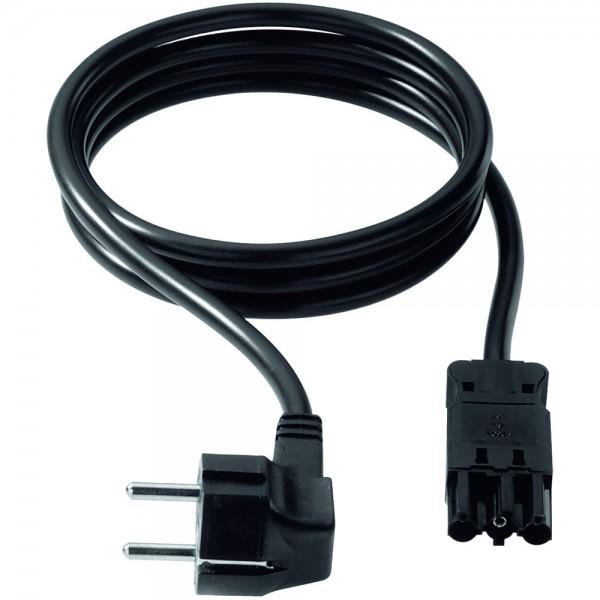 Netzkabel, Gerätezuleitung, L: 3m, schwarz