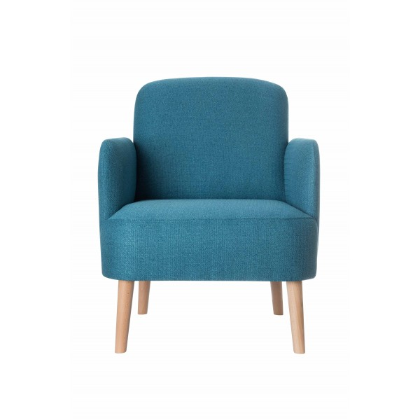 1 Sessel Brooks blau