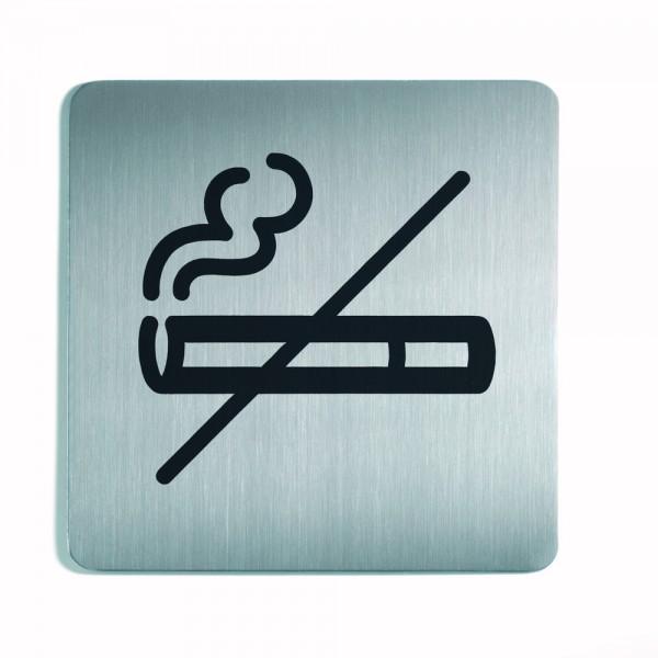Piktogramm Symbol Nichtraucher metal.si 150x150mm