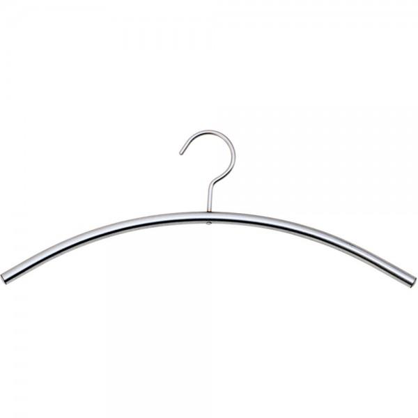 Kleiderbügel Stahl alusilb.  5 St