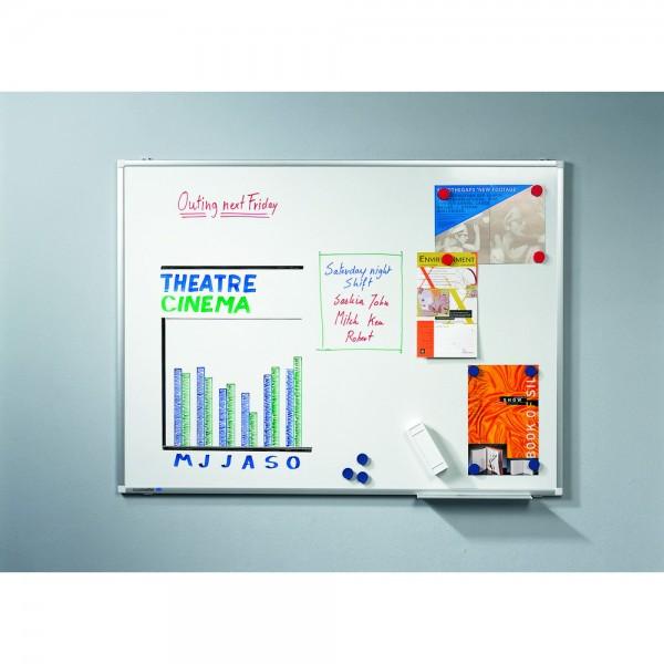 Schreibtafel PREMIUM PLUS, magnetisch, 150x120cm