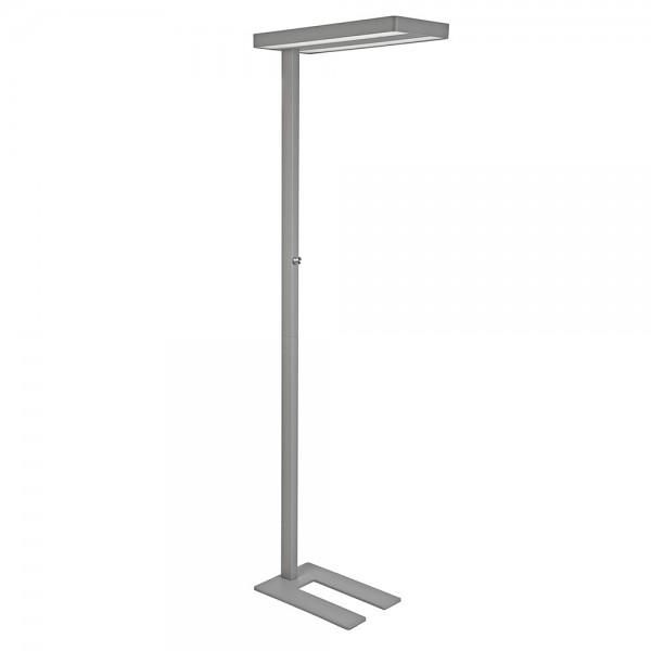 Standleuch.LED MAULjuvis Sens. silber 80W dimmb. H:196cm