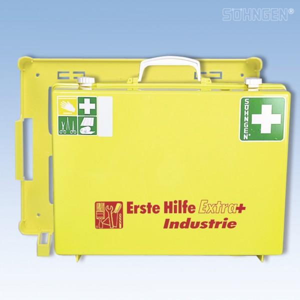 Erste-Hilfe-Koffer Extra+Indus gelb 40x30x15cm 5,92kg