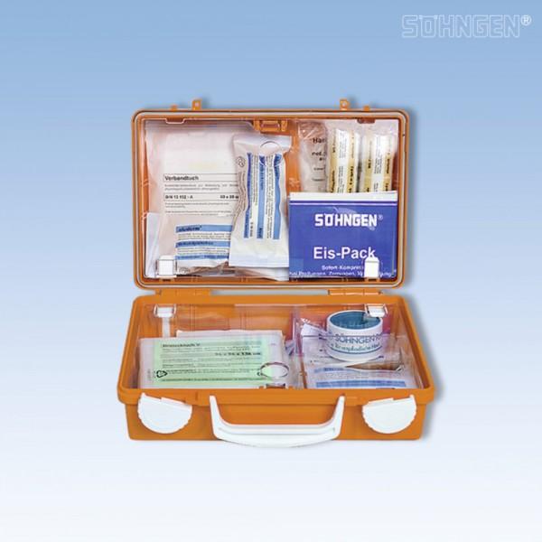 Erste-Hilfe-Koffer Quick-CD orange 26x11x17cm DIN13157